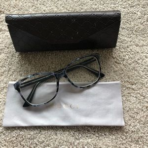 Authentic Gucci Blue & Black glasses model GG3724.